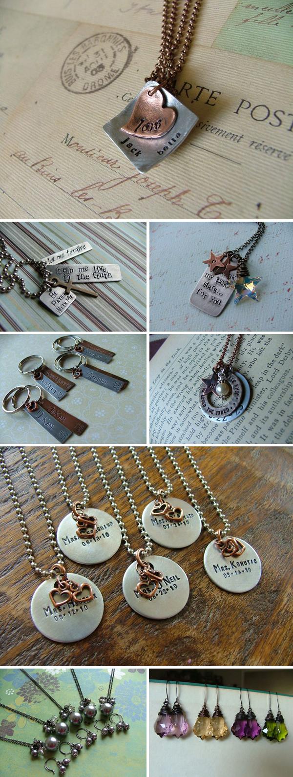 custom wedding jewelry by My Bella