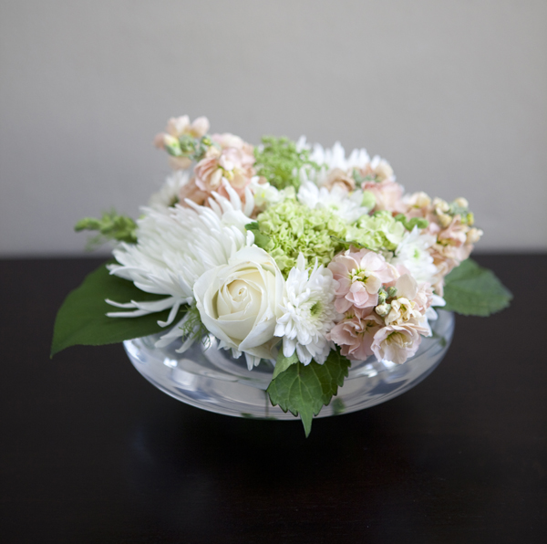 Tutorial on how to arrange flowers