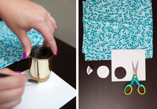 fabric push pin DIY