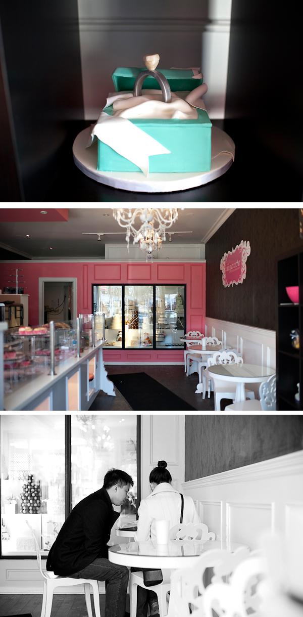 Tiffany Cake Proposal