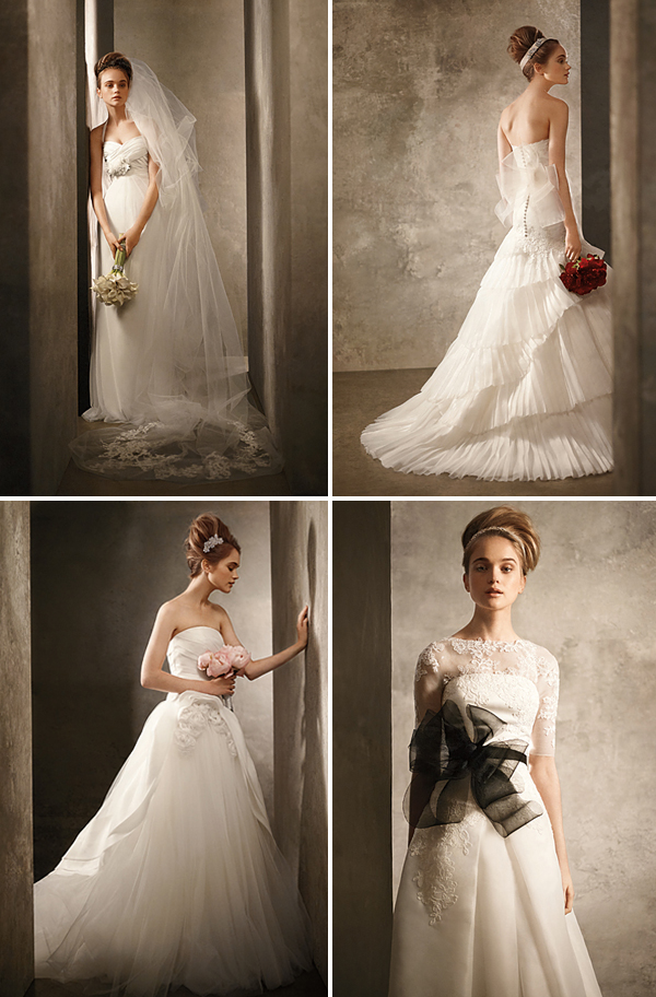 Vera Wang White for Davids Bridal Spring 2011