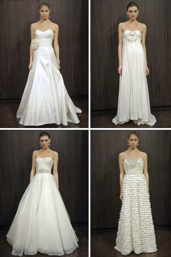 Badgley Mischka Fall 2011 Bridal Collection