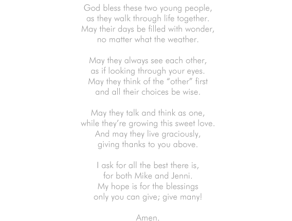 Poem for your wedding ceremony