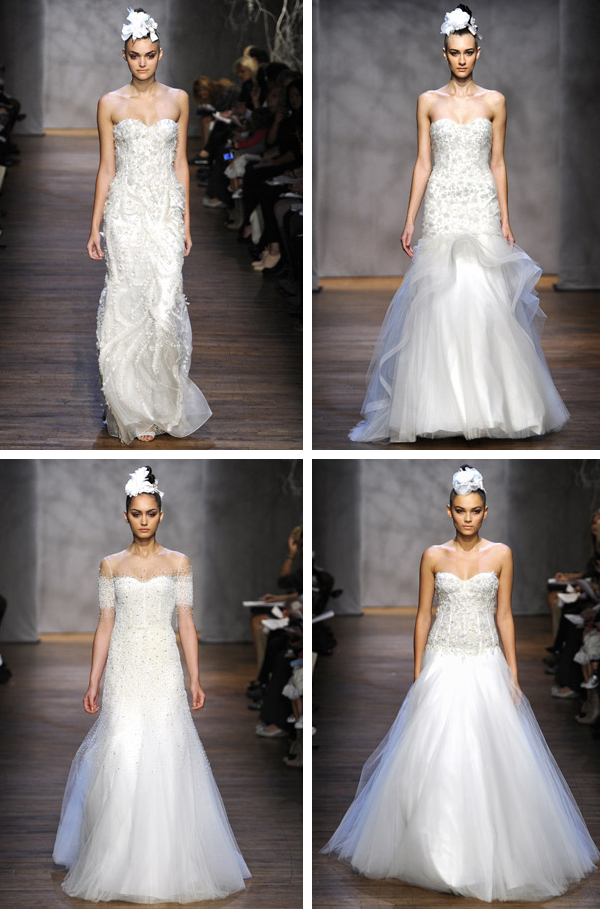 Monique Lhuillier Fall 2011 Bridal Collection