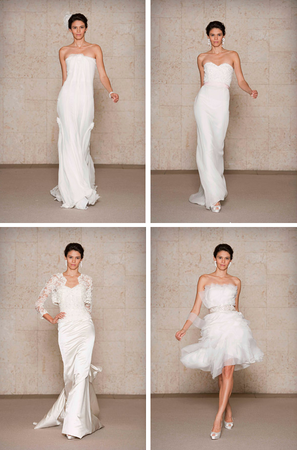 Oscar de la Renta Fall 2011 Bridal Collection