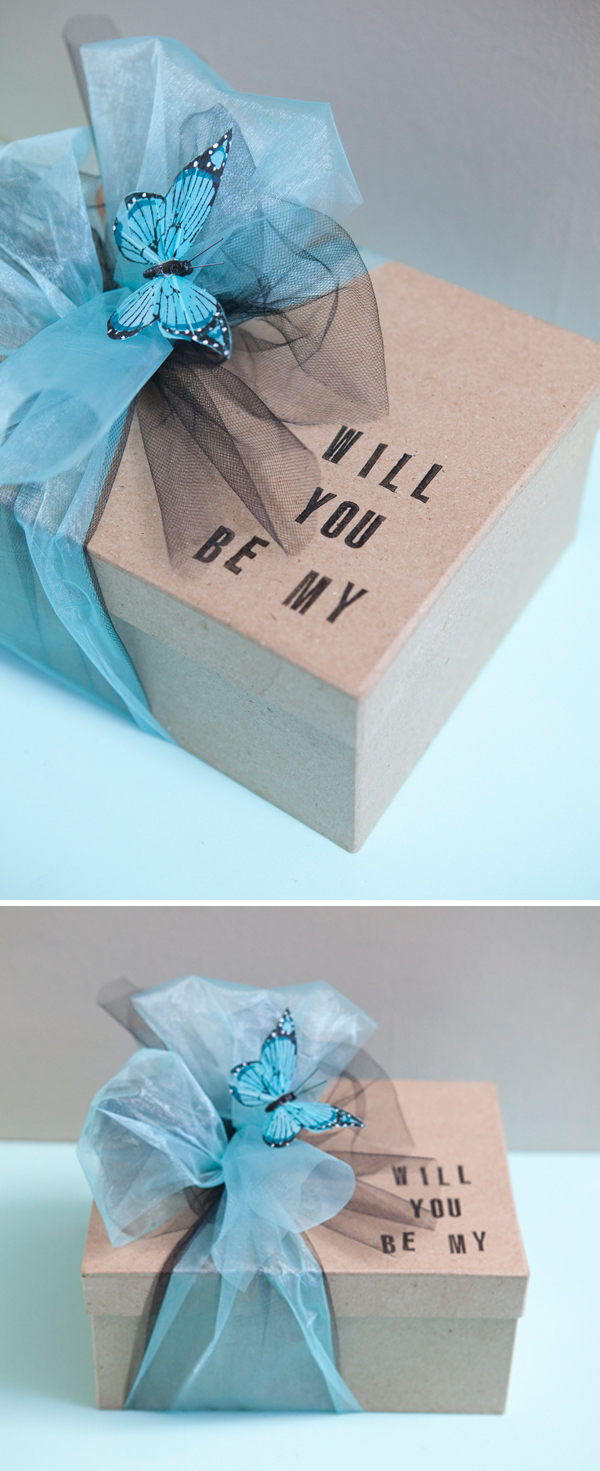 SomethingTurquoise.com DIY Will You Be My Bridesmaid?