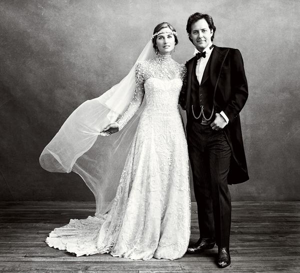 Lauren Bush marries David Lauren
