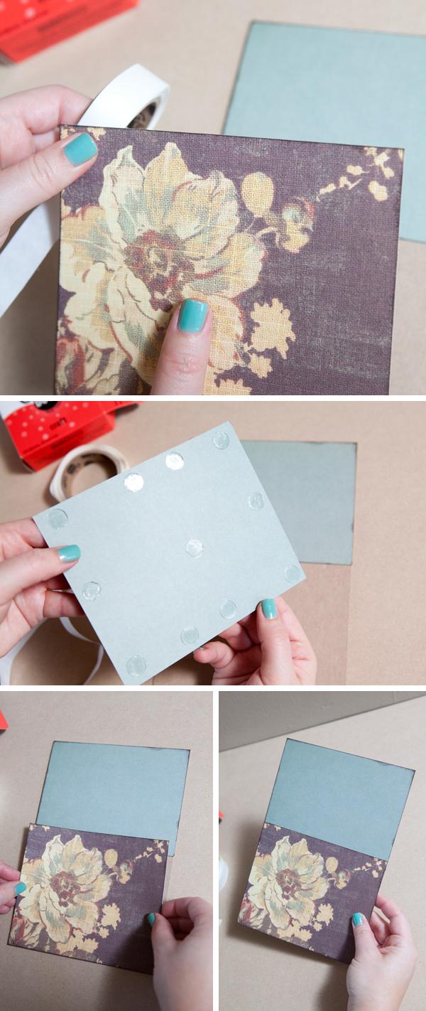 Wedding Card Mini-Album from SomethingTurquoise.com