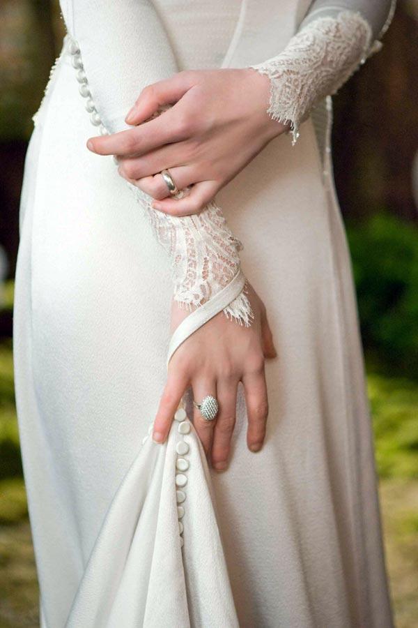 Bella Swan's Wedding Dress by Carolina Herrera