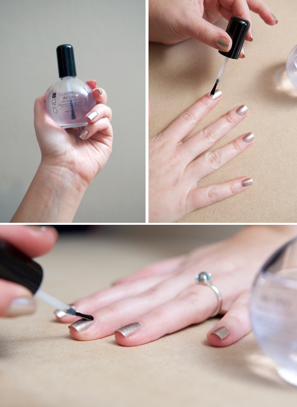 Easy Manicure Tutorial by Jen of Something Turquoise