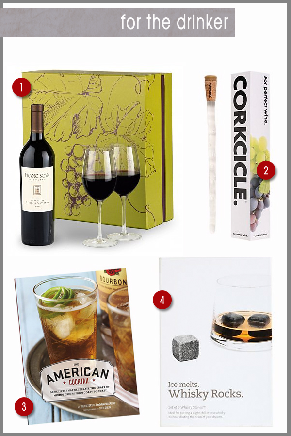 last minute gifts for the drinker in your family