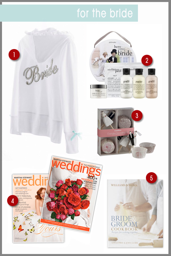 last minute gifts for the new bride in your family