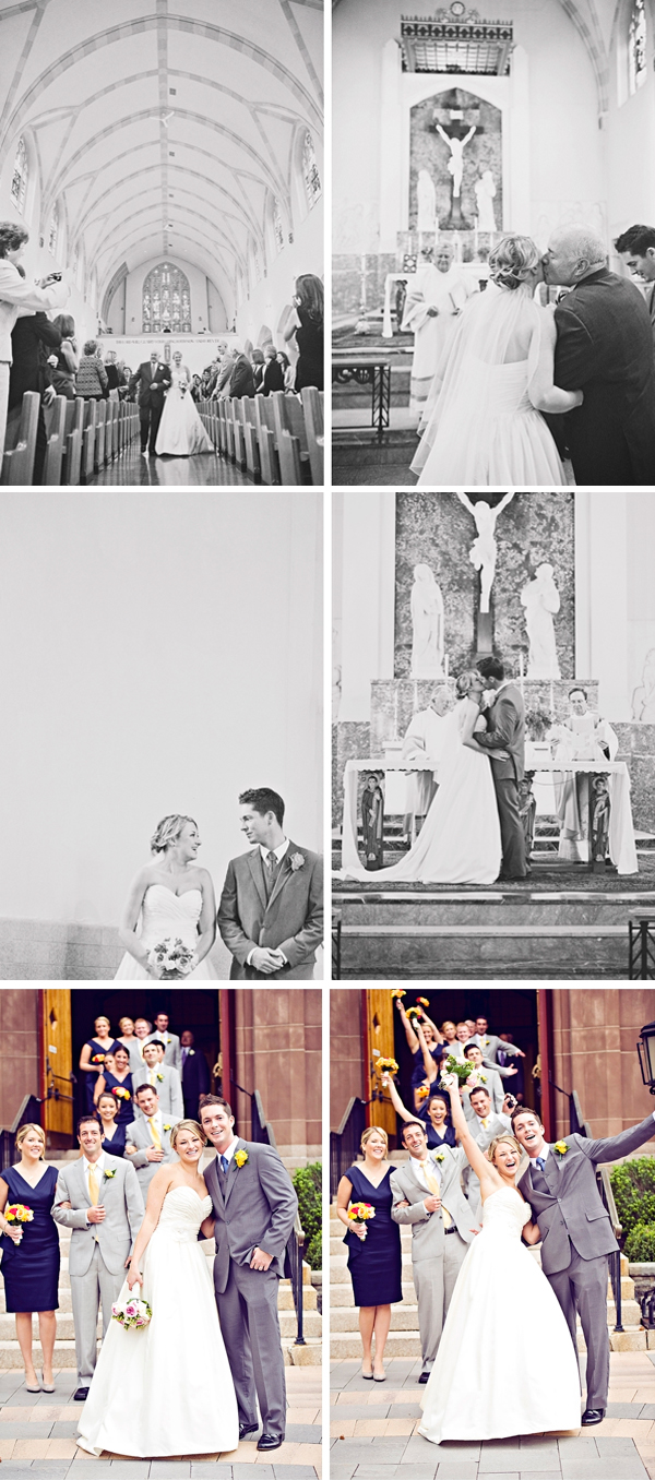 Michelle Gardella Wedding Photography via Something Turquoise