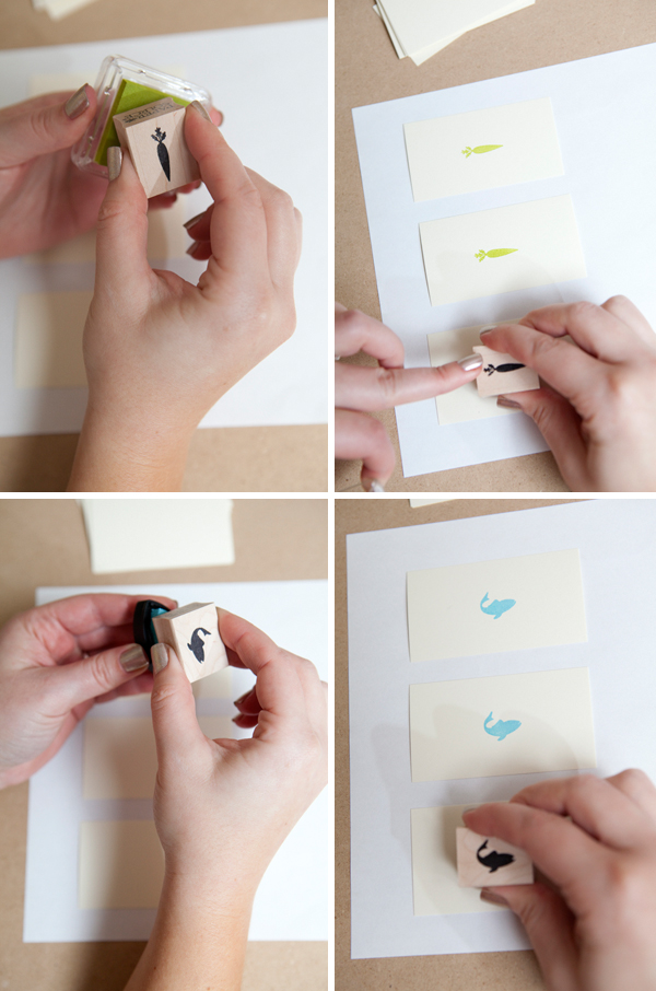 Mini Envelope Escort Cards with Menu Options! Something Turquoise DIY