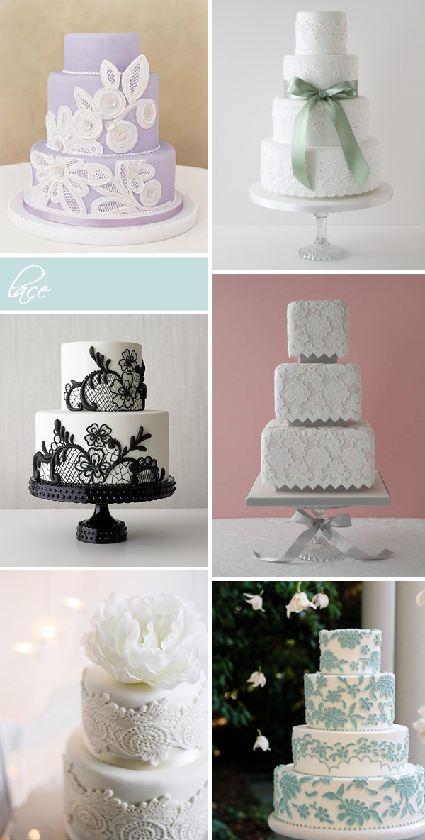 Wedding Cakes Pearls Lace Something Turquoise