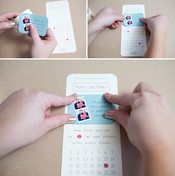 Instagram Sticker Save-the-Date Invitations