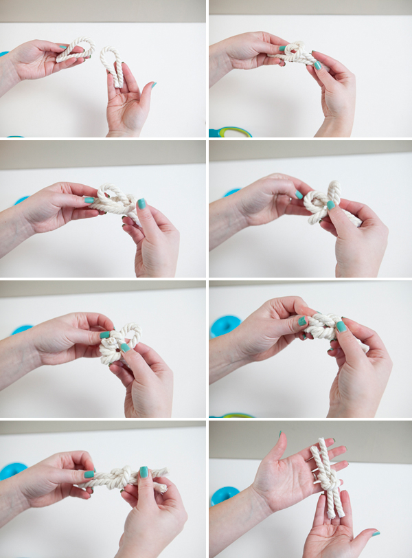 DIY Nautical Rope Boutonniere via Something Turquoise