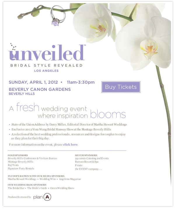 Unveiled Bridal Event Los Angeles