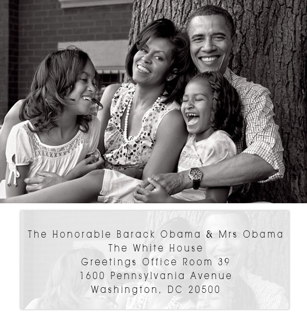 Keepsake mailing your wedding invitations to the president and wedding invitation to the president of the united states m4hsunfo Choice Image