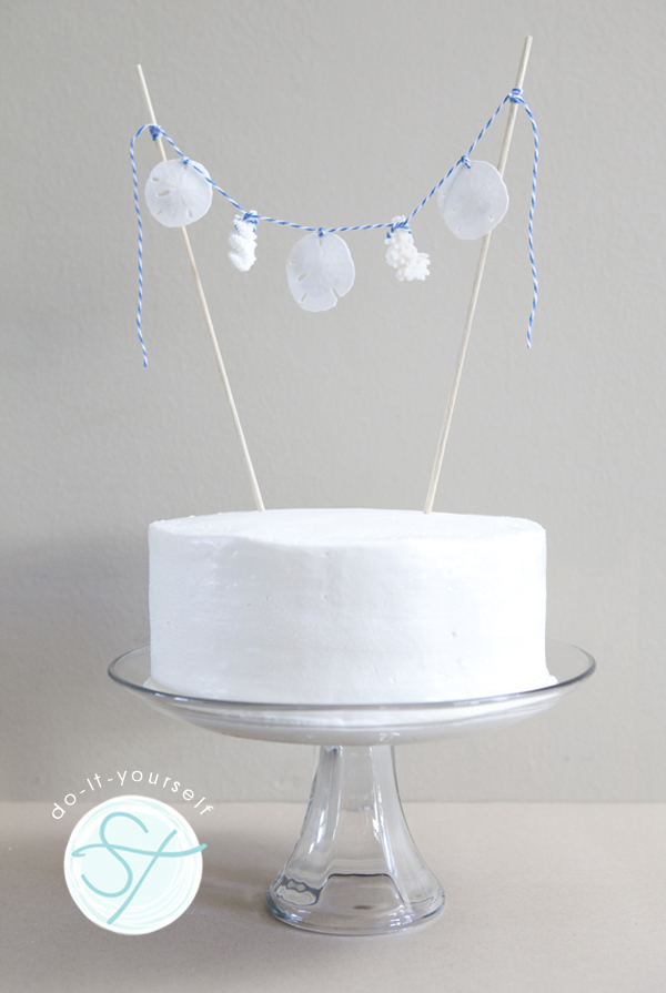 How To Make A  Cake Topper At Home