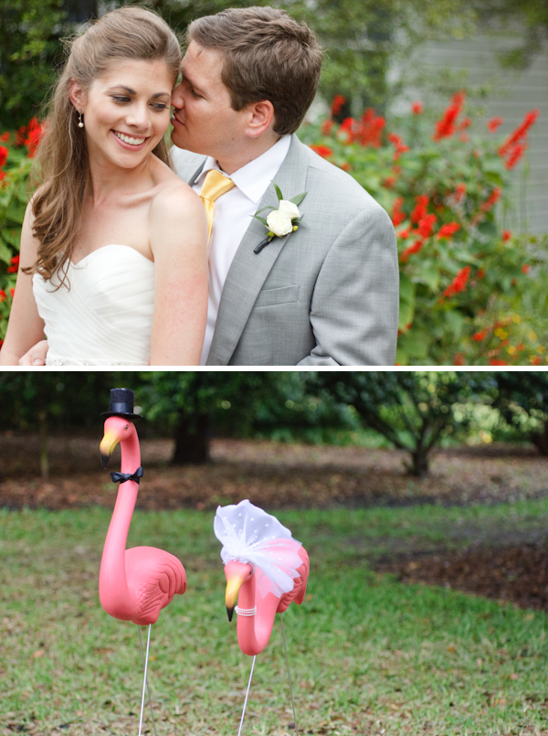 florida orange theme wedding