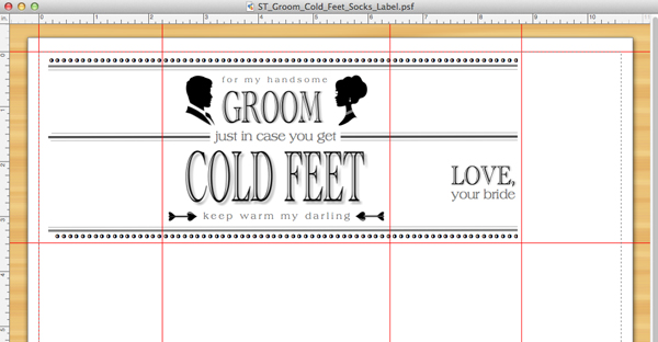 Learn How To Make An Adorable groom Cold Feet Socks Gift