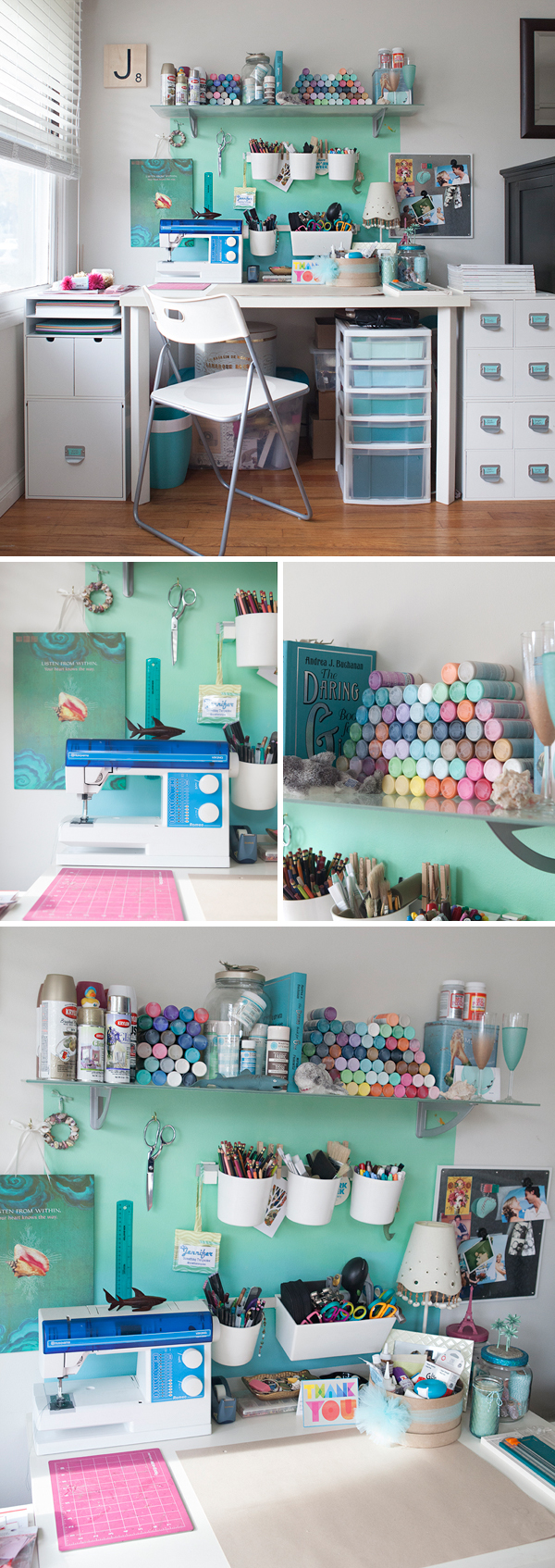 Something Turquoise Craft Corner