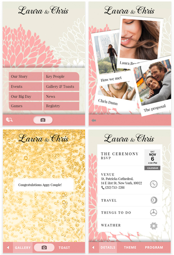 appy couple wedding planning app