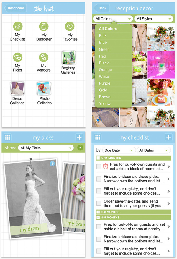 The Knot Ultimate Wedding Planning App