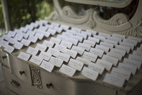 simple seating cards