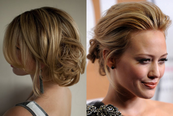 Wedding Hairstyles For Short Hair 2012: The Messy Look - Something Turquoise