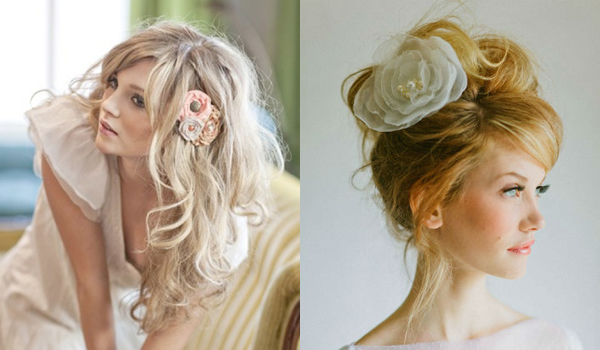Surprising Wedding Hair The Messy Look Something Turquoise Short Hairstyles Gunalazisus