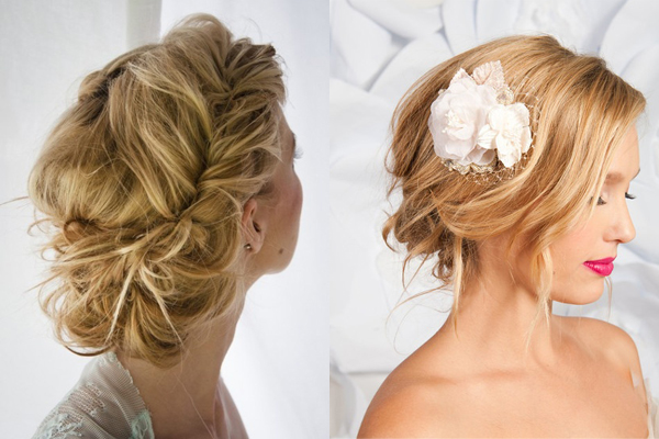 Bridesmaid Messy Hairstyles The Holle