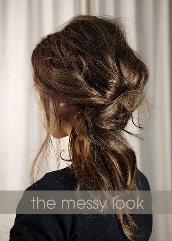 , messy wedding hairstyles. Here are a few of my favorite messy ...