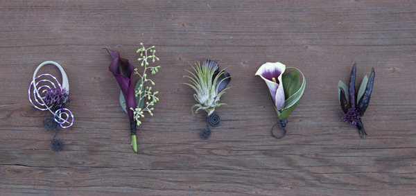 wedding bouquet inspiration - air plant
