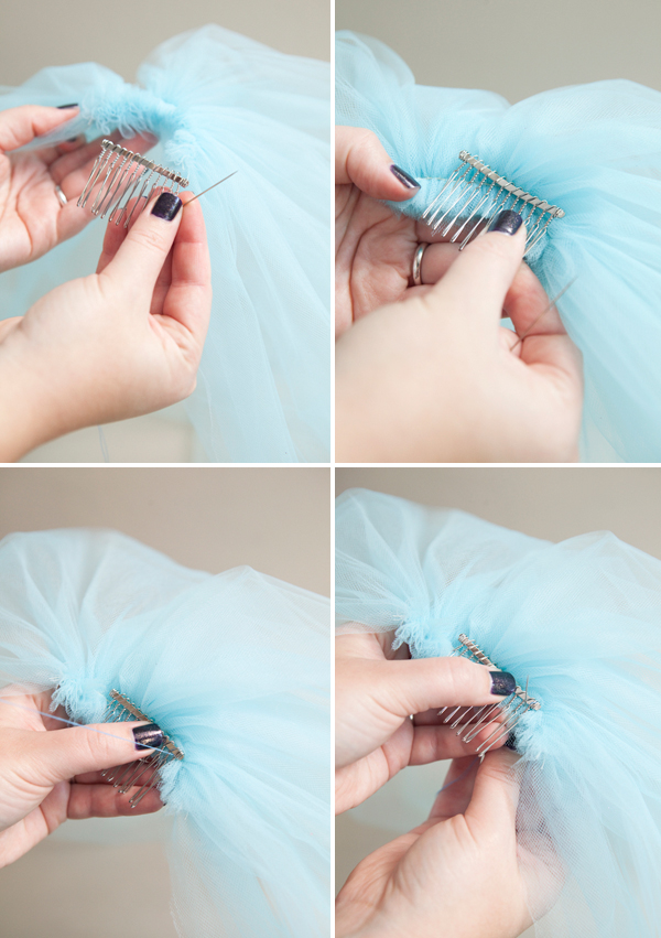 how to make a silly bachelorette party veil