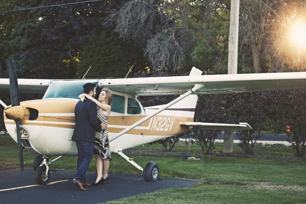 airplane engagement shoot