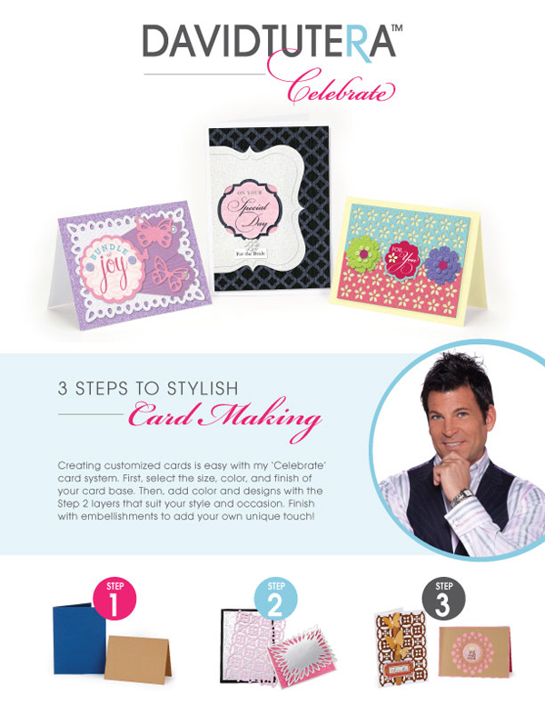 David Tutera Celebrate Card Line & Something Turquoise DIY