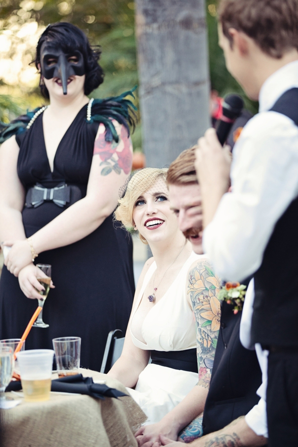 halloween themed wedding
