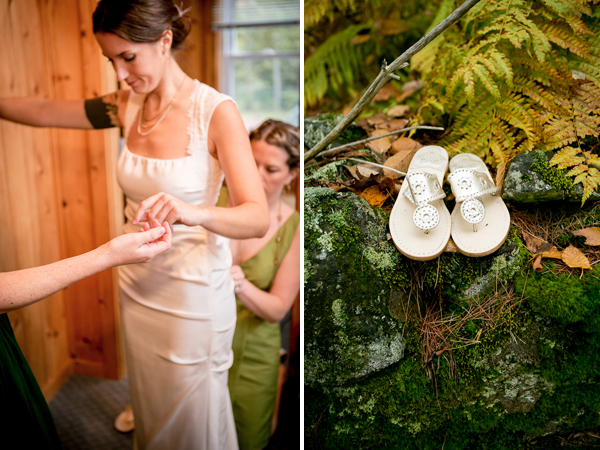vermont outdoor mountain wedding