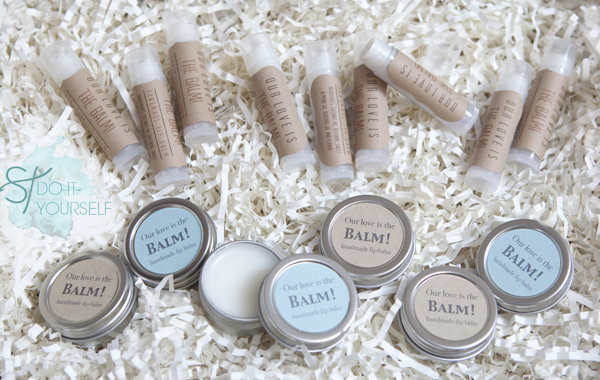 Homemade Wedding Shower Gifts: Guest Post: Lip Balm Wedding Favors