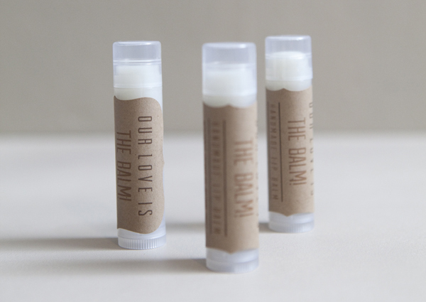 Guest Post: Lip Balm Wedding Favors - Soap Queen