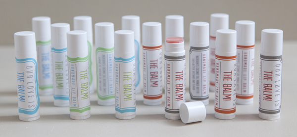 Learn How Easy It Is To Make Your Own Lip Balm - Lip balm label template