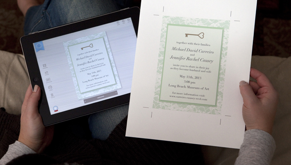 Martha Stewart CraftStudio iPad app for weddings