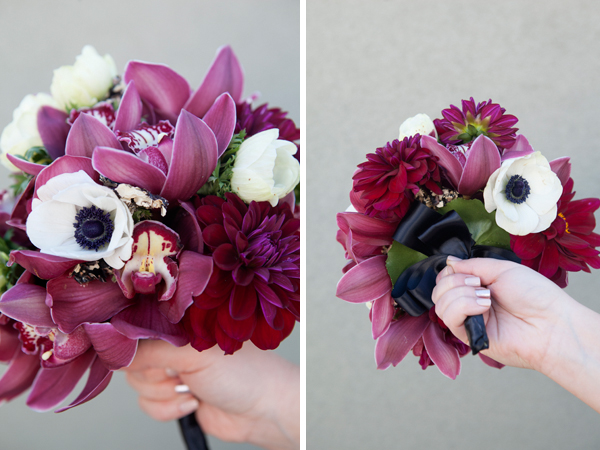Maroon Wedding Flowers Bouquet Blueprint Romantic Burgundy Blooms Something Turquoise