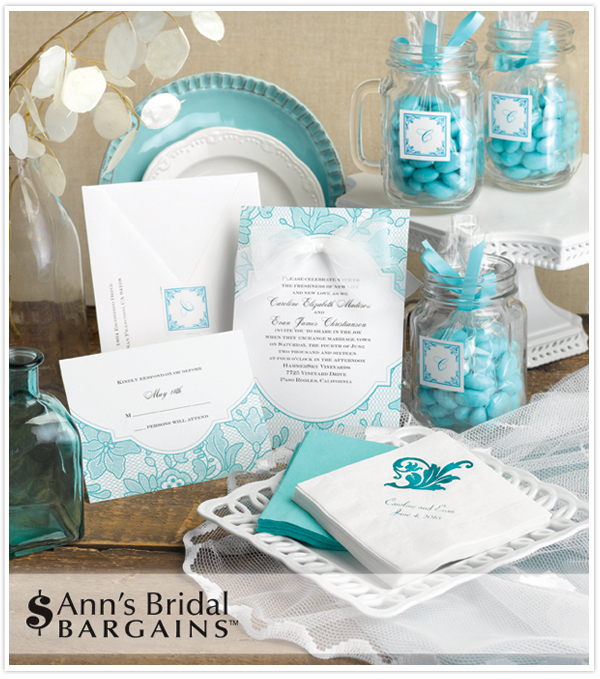 anns bridal invitations
