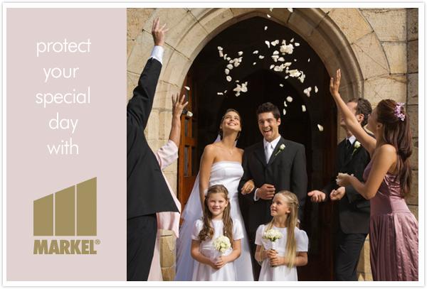 wedding insurance markel something turquoise