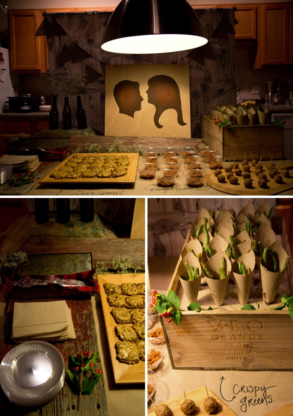 lumberjack themed coed wedding shower With coed wedding shower themes