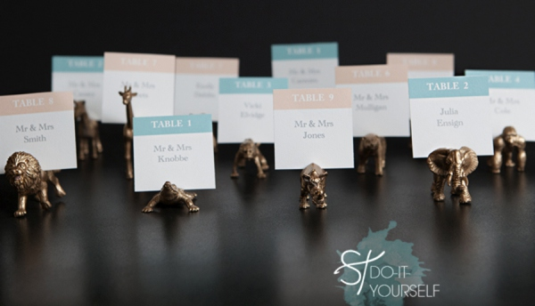 Diy gold painted toy animal escort cards something turquoise stdiygoldanimalescortcardfavors0001g solutioingenieria Images