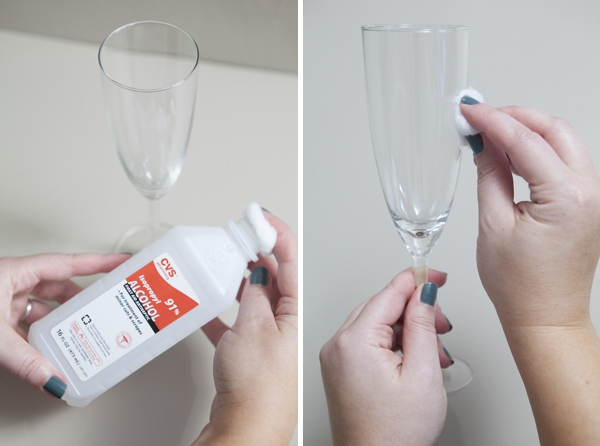 Learn How Easy It Is To Make Glittered Glassware